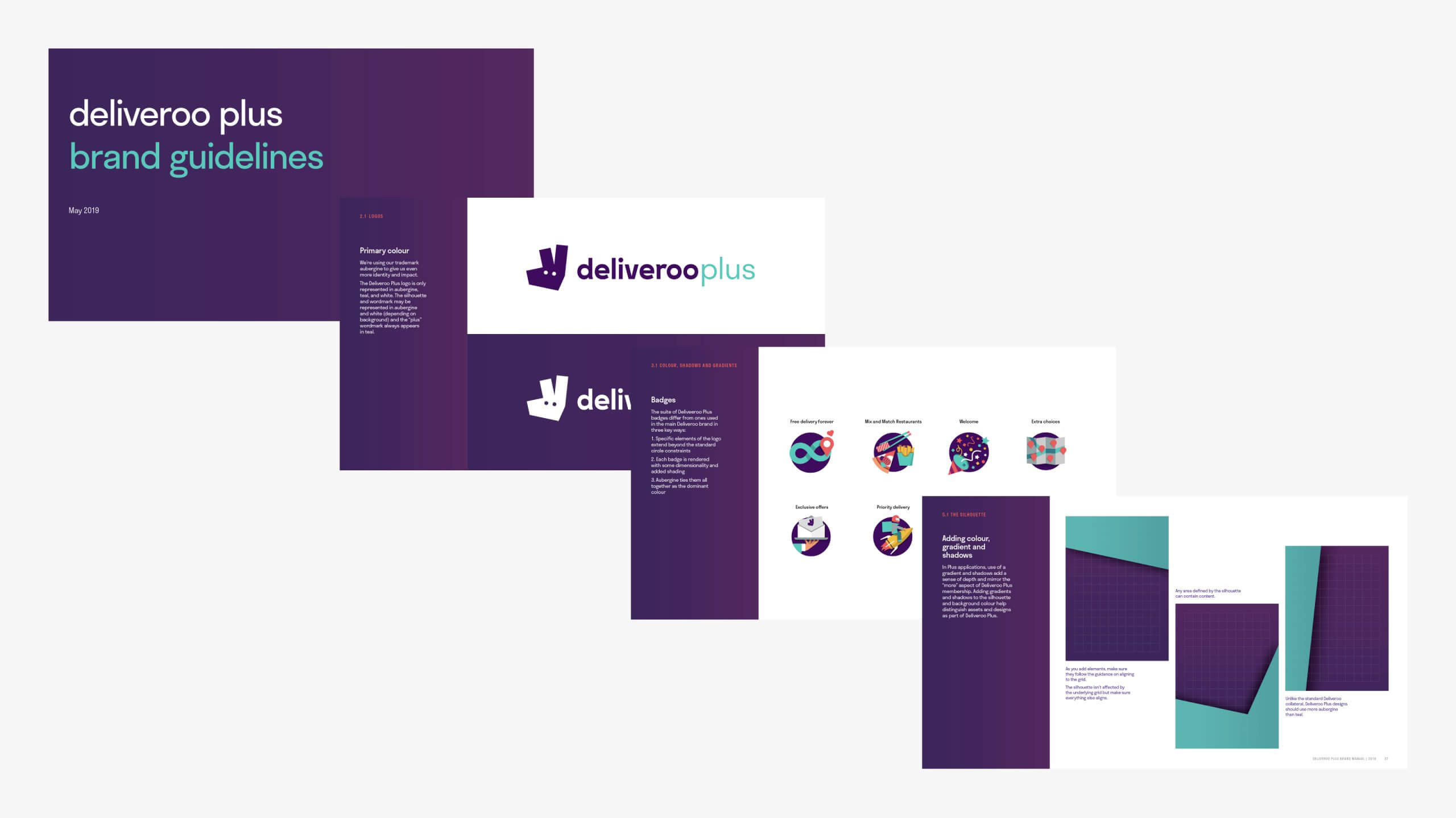 Deliveroo Plus brand guidelines